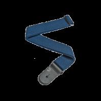 D'Addario Planet Waves Cotton Guitar Strap, Blue 50CT03