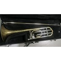 Used OLDS Trombone (Bb/F) NR25 Lacquer SN: 505455