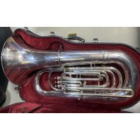 Used Besson BBb Tuba BE794 Silver SN: 878750