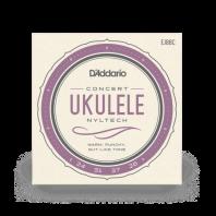 D' Addario Concert Ukulele Strings Set Nyltech Natural Nylon EJ88C