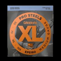 D' Addario ProSteels Bass String Set, Medium 50-105 EPS160