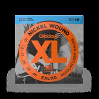 D' Addario Electric Guitar Strings Set Regular Light 10-46 EXL110