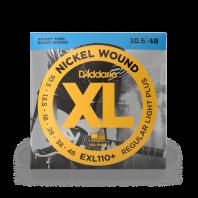 D' Addario Electric Guitar Strings Set Regular Light Plus 10.5-48 EXL110+