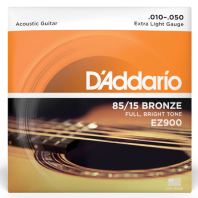 D' Addario Acoustic Guitar Strings Set Great American Bronze Extra Light EZ900