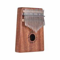 Gecko Kalimba K17M (17 note, C Tone, Mahogany wood)
