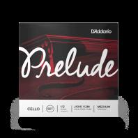 D' Addario Prelude Cello String Set 1/2 Scale Medium Tension J1010 1/2M