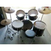 Used Premier Cabria Drumset Maroon