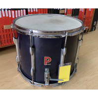 Used Premier Marching Snare Drum Blue