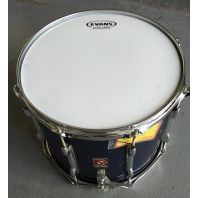 Used Premier Marching Snare Drum Navy Blue