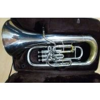 Used Besson Euphonium BE766 Silver SN: 744825
