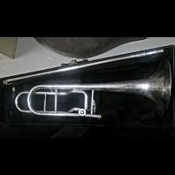 Used Conn Bass Trombone H110 SN: 741604