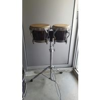 Used Latin Fire Bongo with Stand