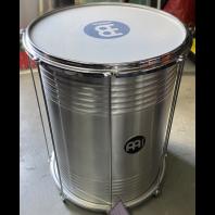 Used Meinl Brazilan Drum Silver 17 inch #1