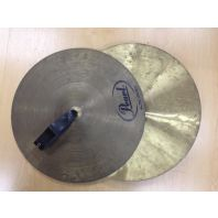 Used Pearl Concert Crash Cymbals 16 inch CX200
