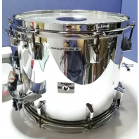 Used Remo Marching Snare Drum Silver