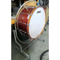 Used Yamaha Concert Bass Drum CB736A 36 inch with stand SN: LN2512