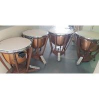 Used Yamaha Copper Timpani (Set of 4)