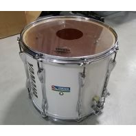Used Yamaha Marching Snare Drum White